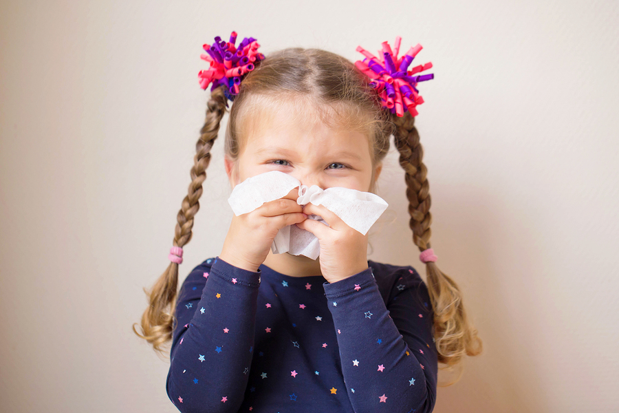 runny nose - kids