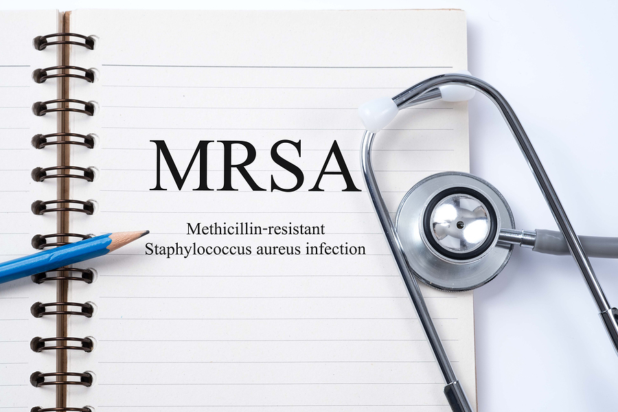 MRSA athletic dissinfection